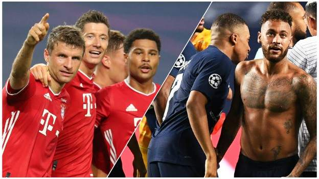 Champions League Final Paris St Germain And Bayern Munich Meet In Lisbon Bbc Sport