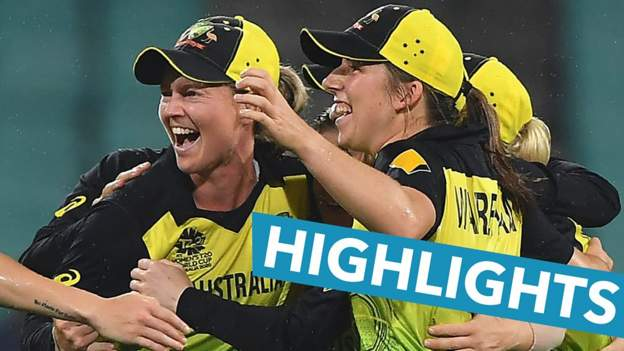 Highlights: Lanning leads Australia to T20 World Cup final