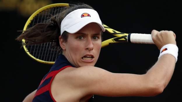 Italian Open: Johanna Konta beats Irina-Camelia Begu in Rome