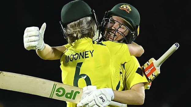 Australia v India: Hosts win second women's ODI after no-ball drama