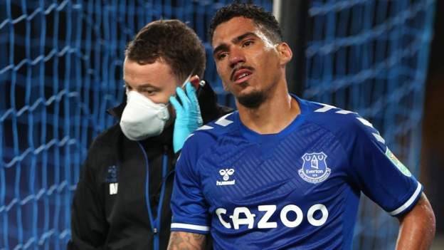 Allan: Everton wait on extent of injury suffered by midfielder - bbc