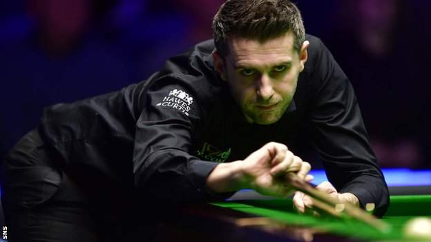 Mark Selby at the Scottish Open