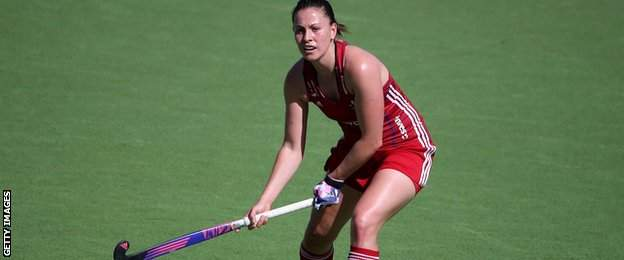 Scotland's Emily Maguire in action for Great Britain