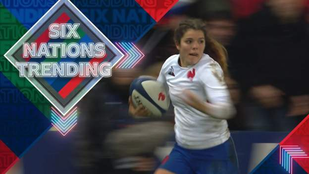Women's Six Nations: Cyrielle Banet scores length-of-the-field try for France thumbnail