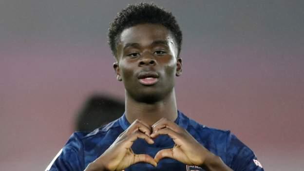Southampton 1-3 Arsenal: Teenager Bukayo Saka scores one and creates another - bbc