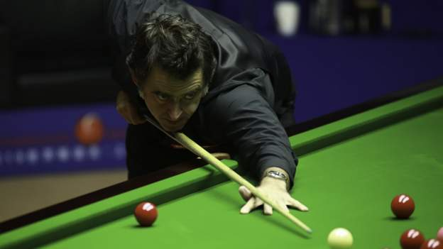 O'Sullivan leads Selby at Crucible