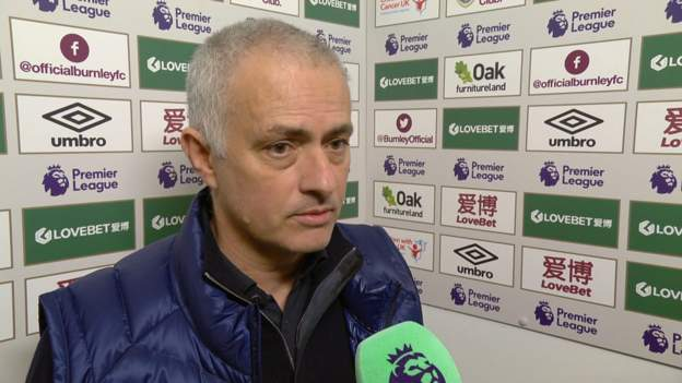 "Burnley 1-1 Tottenham: Jose Mourinho ""disappointed"" with £53.8m signing Tanguy Ndombele thumbnail"