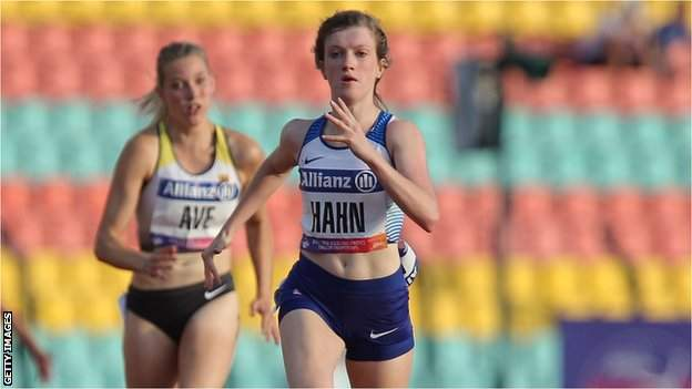 Sophie Hahn won three golds for Britain at the last Europeans