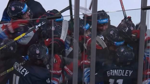 Winter Youth Olympics 2020: Late ice hockey drama as USA beat Canada