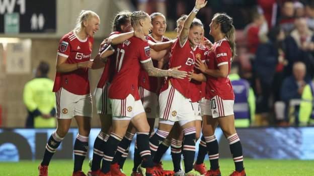 Manchester United 2-0 Belajar: Bos baru Marc Skinner membuka trend WSL dengan kemenangan thumbnail