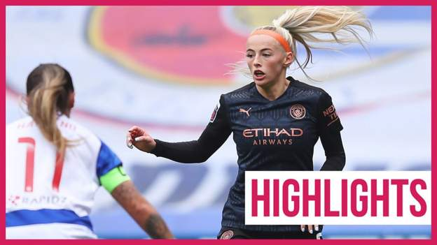 WSL: Reading Women 1-1 Manchester City Women highlights