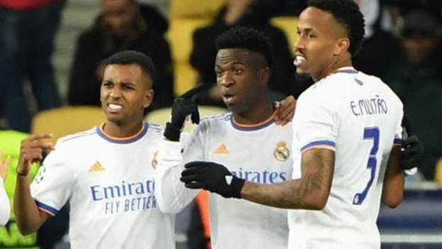 Shakhtar Donetsk 0-5 Real Madrid: Vinicius Junior stars as Real win away