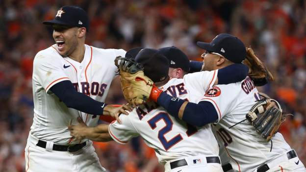 Houston Astros beat Boston Red Sox to reach World Series against Braves or Dodgers
