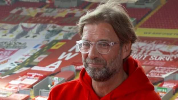 Liverpool: Jurgen Klopp 'completely overwhelmed' by Premier League title win thumbnail