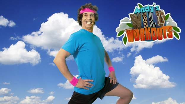 Andy's Wild Workouts: Up in the Air - BBC Sport