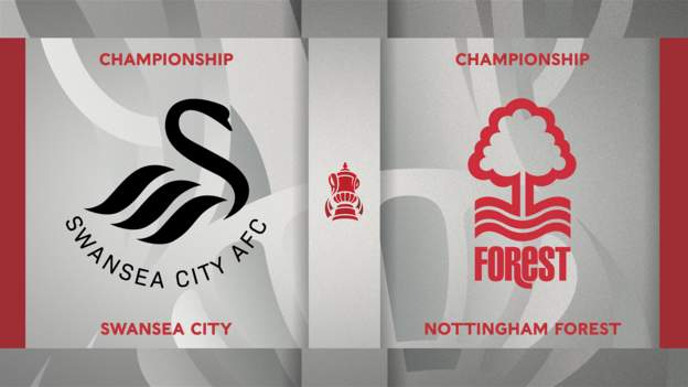 FA Cup: Swansea City 5-1 Nottingham Forest highlights - bbc