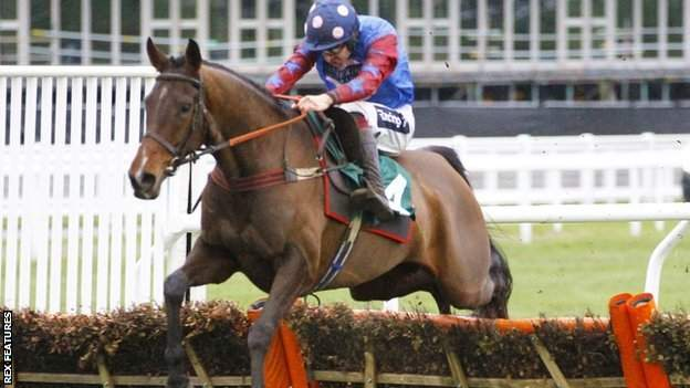 Jockey Aidan Coleman rides Paisley Park to victory in the Cleeve Hurdle at Cheltenham in January