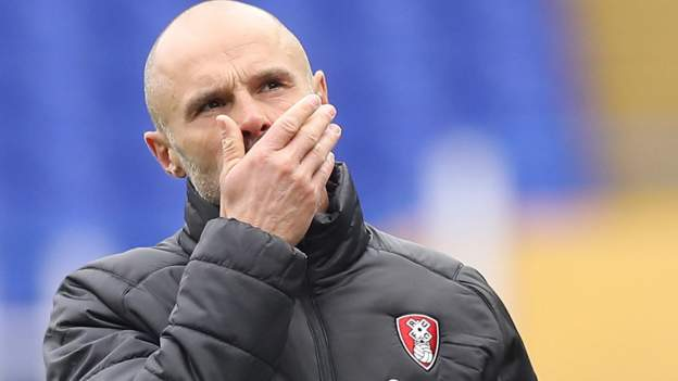 Paul Warne: Rotherham United boss 'turned into super-fan' managing from home