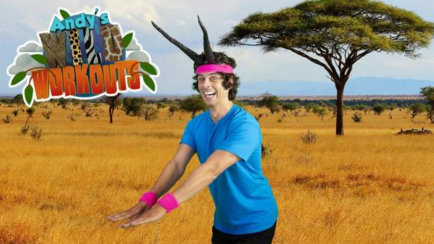 Andy's Wild Workouts: the Savannah - BBC Sport