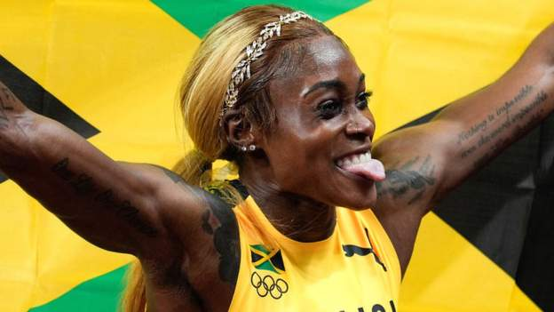 Tokyo Olympics: Elaine Thompson-Herah last woman standing as bar brawl boils down to duel