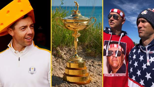 Ryder Cup: Europe take on United States at Whistling Straits