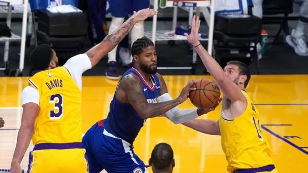 NBA: LA Lakers LA Clippers'a yenildi, Brooklyn Nets, Golden State Warriors'ı yendi