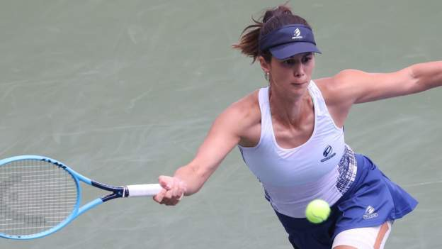 US Open 2020: Tsvetana Pironkova describes her return to tennis as 'unreal' thumbnail