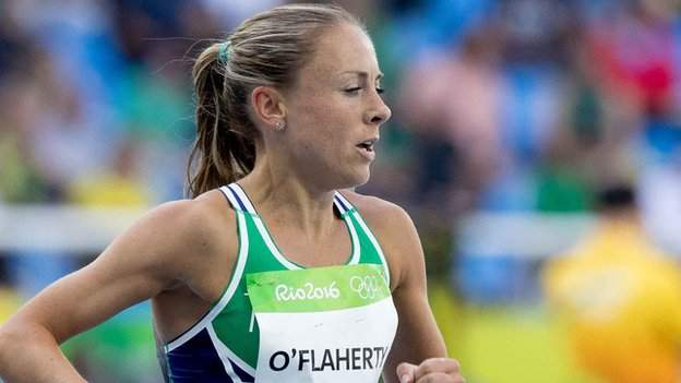 Kerry O'Flaherty represented Ireland at the 2016 Olympics in Rio