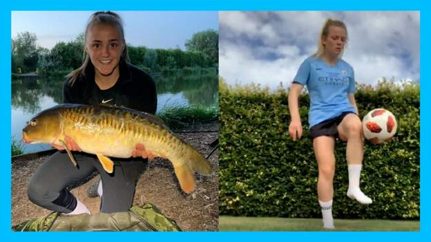 Fishing, juggling and FA Cup finals - Georgia Stanway and Lauren Hemp
