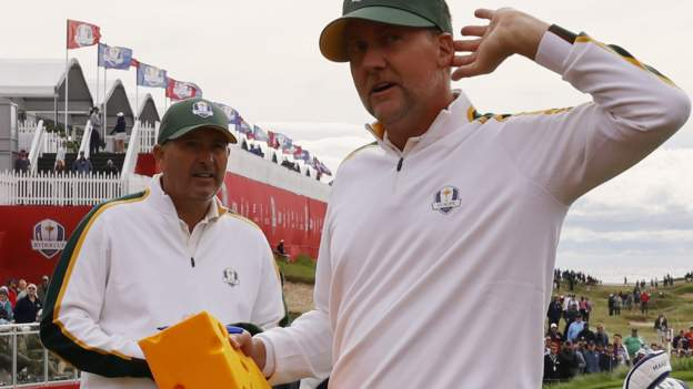 Ryder Cup: Europe's Ian Poulter ready to face US at Whistling Straits - BBC Sport