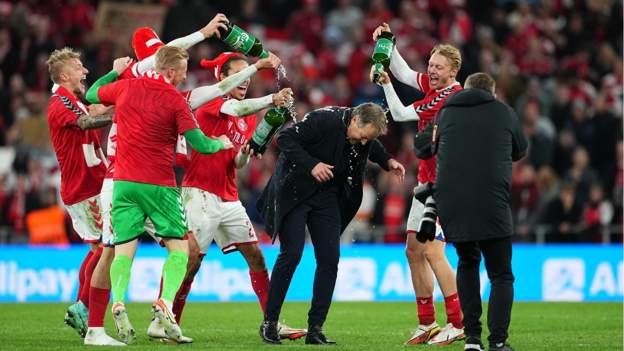 Denmark 1-0 Austria: Danes qualify for Qatar with perfect record so far
