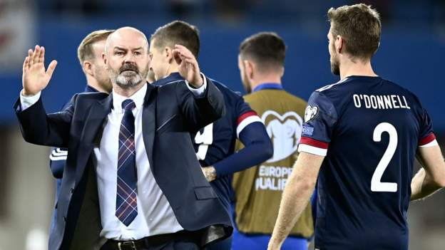 Austria 0-1 Scotland: Steve Clarke says he 'believes in group' after priceless win