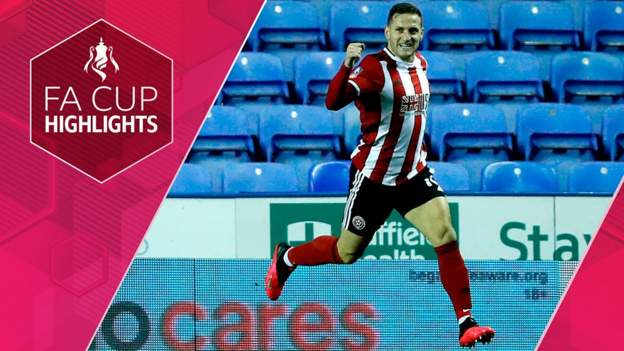 FA Cup: Reading 1-2 Sheffield United - highlights