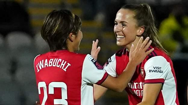 Arsenal Women 5-1 Tottenham Women: Gunners thrash local rivals