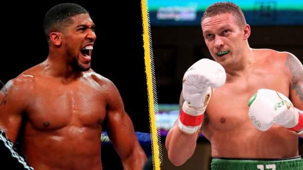 Anthony Joshua v Oleksandr Usyk: BBC Radio 5 Live to broadcast heavyweight title fight