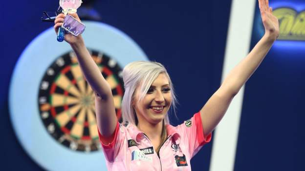 Fallon Sherrock becomes first woman to reach televised PDC final