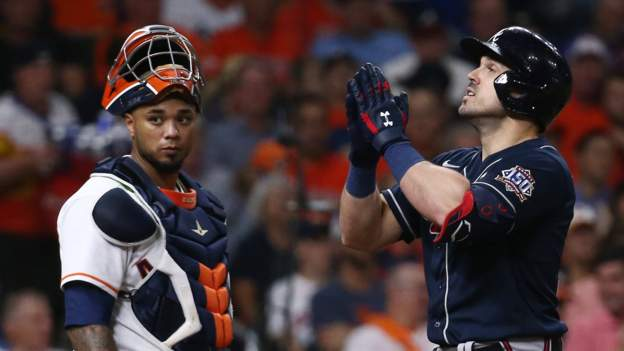 World Series 2021: Atlanta Braves beat Houston Astros 6-2 in game one but lose Charlie Morton to injury
