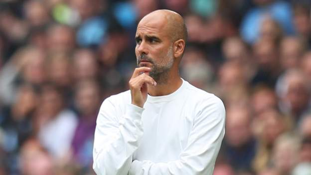 Manchester City: Pep Guardiola says he will leave club when his contract expires in 2023