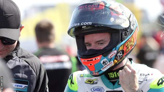 Alastair Seeley holds the Superstock and Supersport lap records at the North West 200