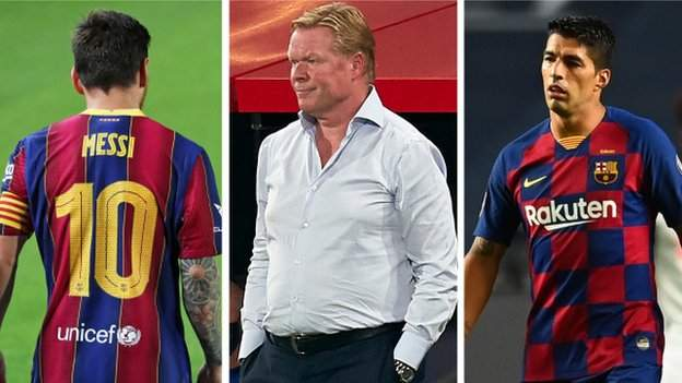 Barcelona: Lionel Messi, Luis Suarez and three other questions thumbnail