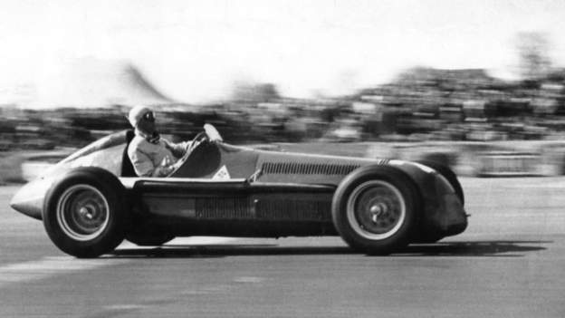 Archive: Silverstone hosts first F1 World Championship race thumbnail