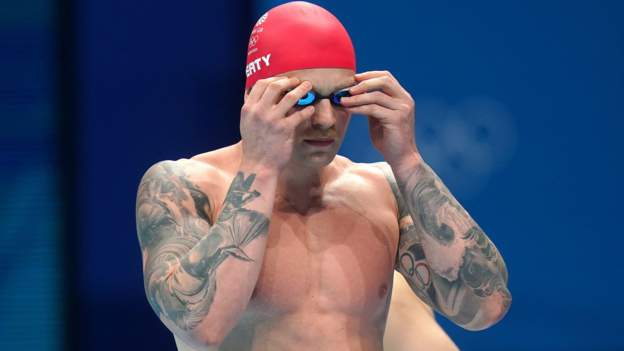 Tokyo Olympics: Adam Peaty eases through to 100m breaststroke semi-finals