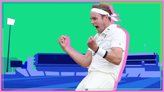 England v West Indies: Stuart Broad takes four wickets in a morning
