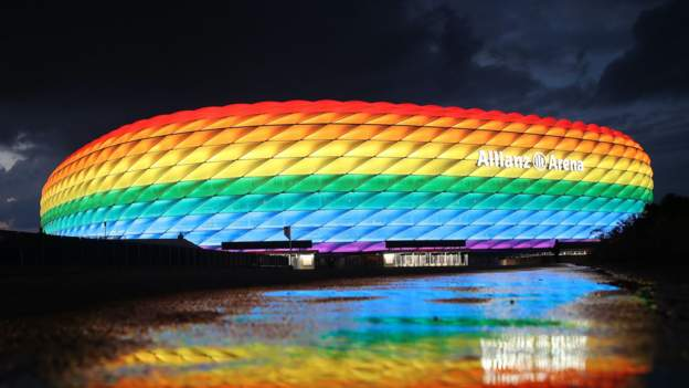 Uefa declines Munich's rainbow request