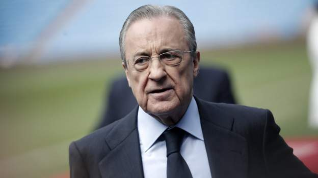"""European Super League: The project is """"on standby"""", says Real Madrid president Florentino Perez"""