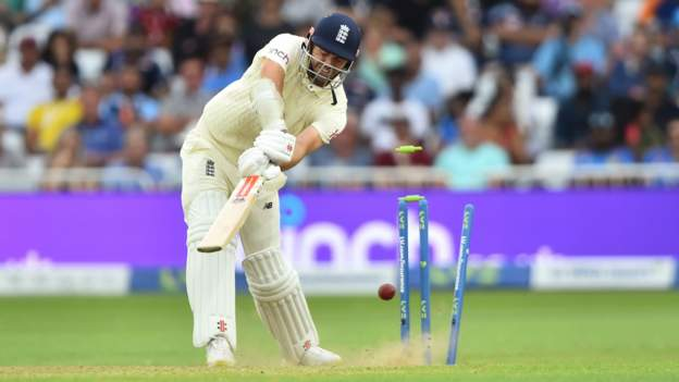 England v India: Hosts collapse to 183 all out in first Test at Trent Bridge