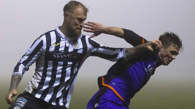 St Mirren 0-0 Dundee United: Home side held in first game in 27 days - BBC  Sport