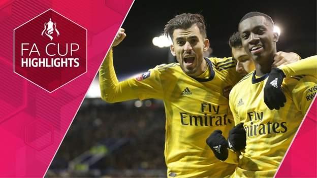 FA Cup highlights: Portsmouth 0-2 Arsenal thumbnail