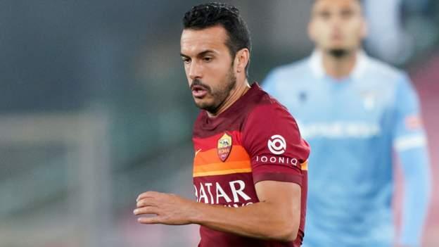 Pedro: Forward makes controversial Lazio move from arch rivals Roma