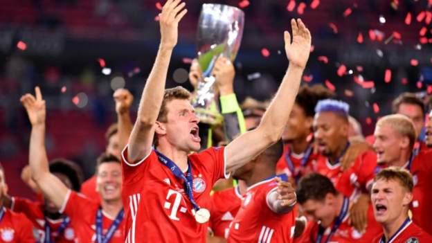 Super Cup: Bayern Munich 2-1 Sevilla (AET) - Javi Martinez scores extra-time winner - bbc